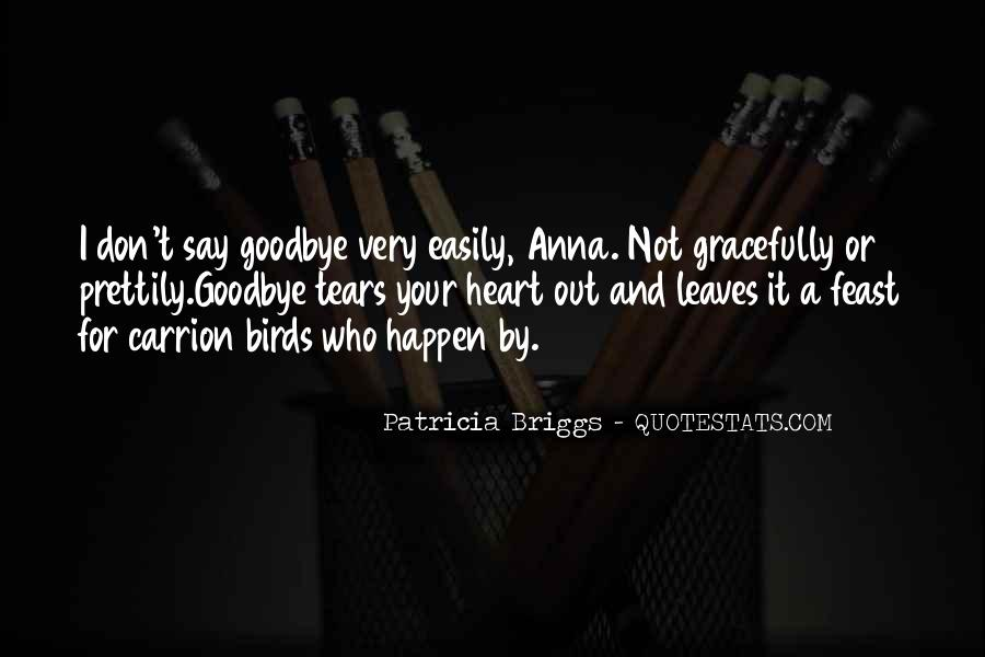 Quotes About Tears And Grief #132079