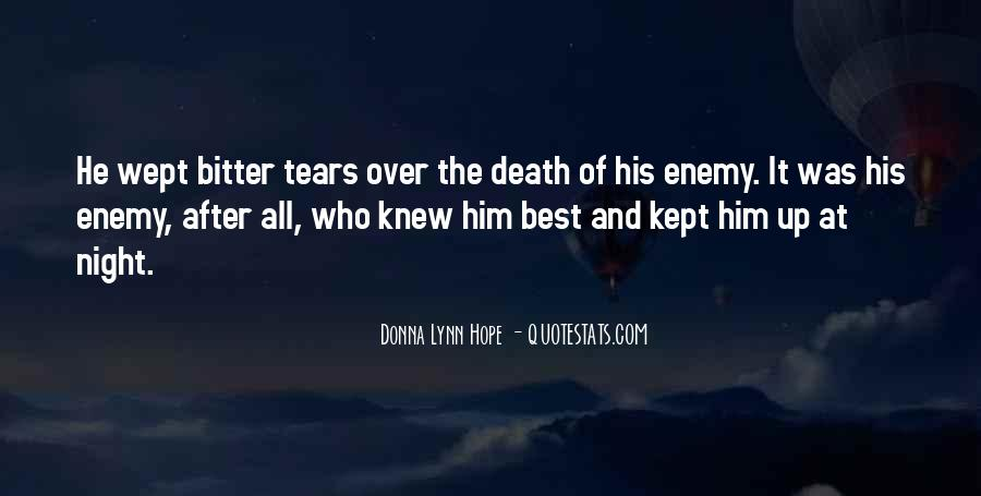 Quotes About Tears And Grief #137347