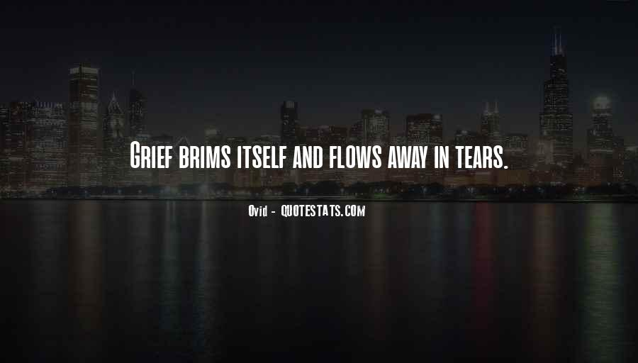 Quotes About Tears And Grief #1421351