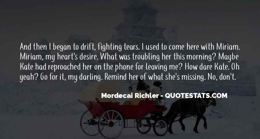 Quotes About Tears And Grief #1462289