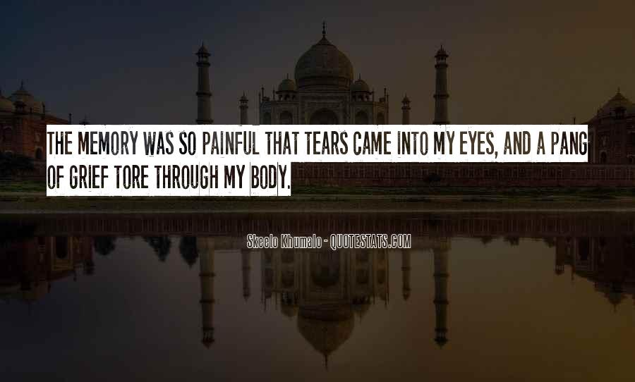 Quotes About Tears And Grief #1550277