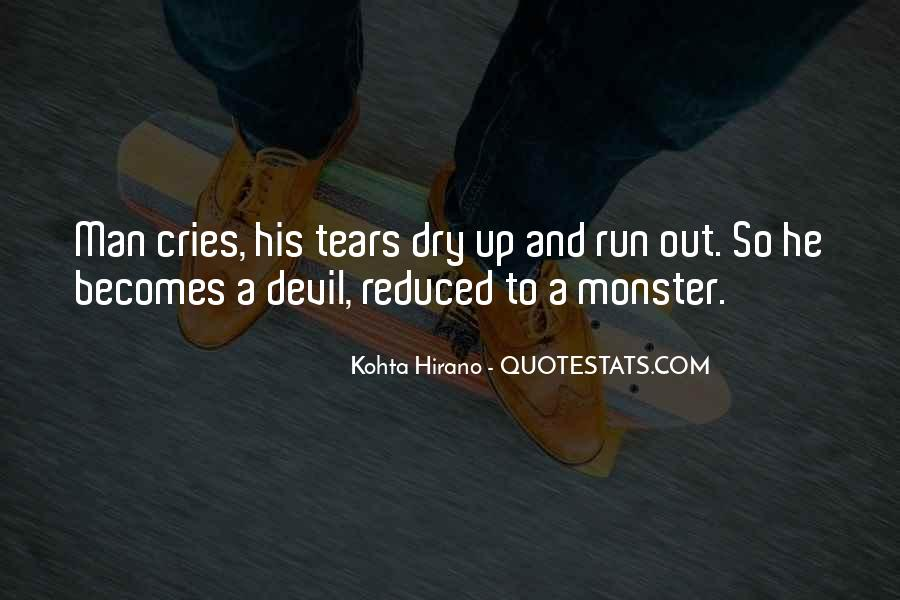 Quotes About Tears And Grief #316335