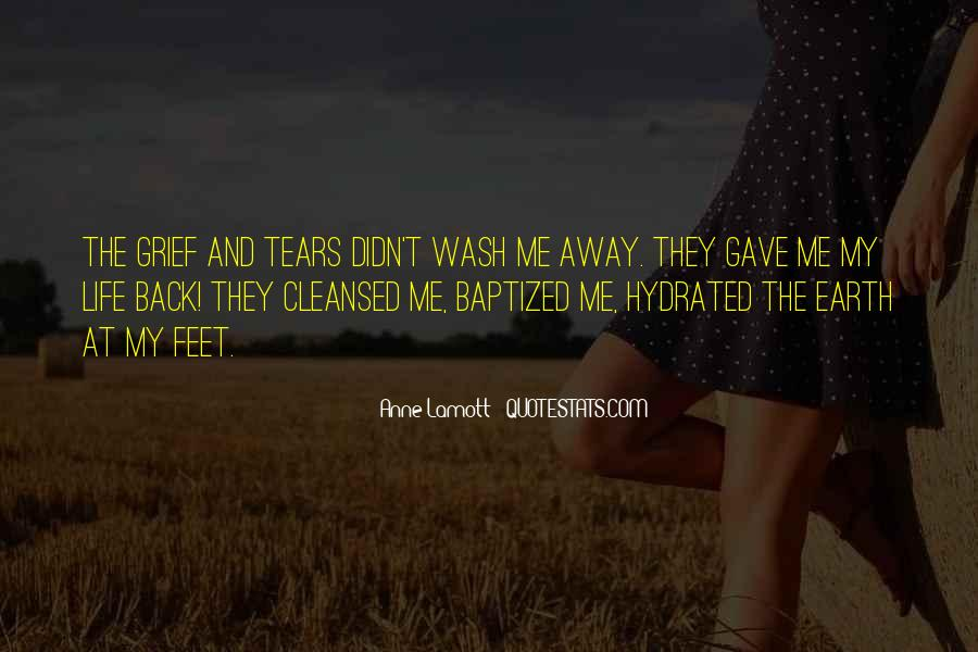 Quotes About Tears And Grief #95218