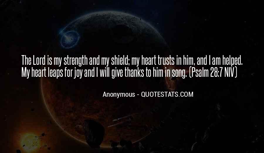 Lord Give Me More Strength Quotes #367350