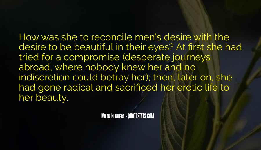 Quotes About Desperate Men #1144535