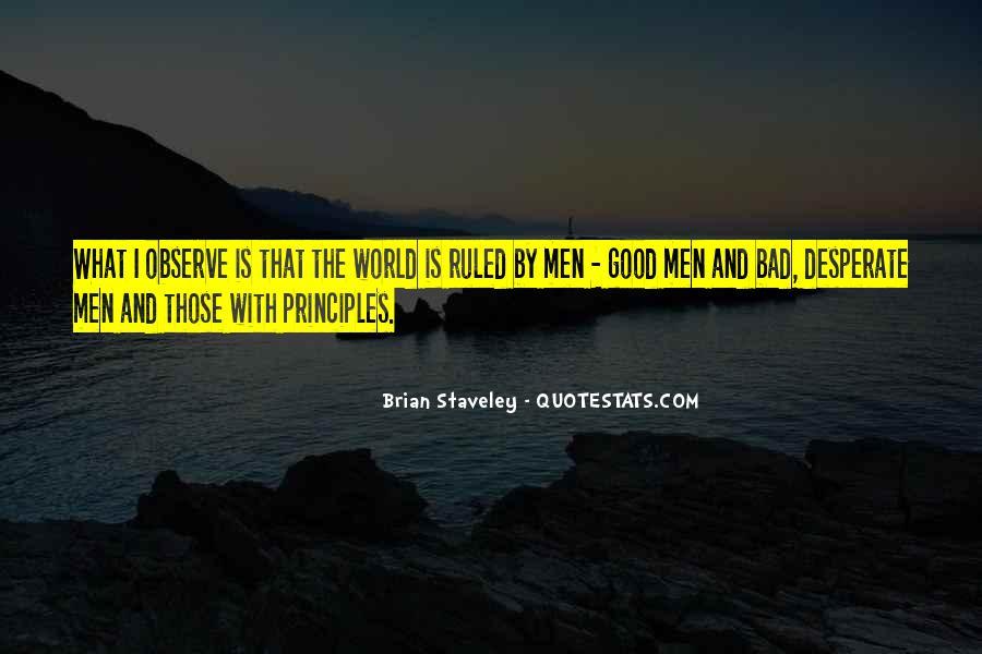 Quotes About Desperate Men #1196231