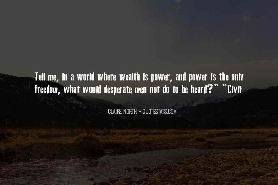 Quotes About Desperate Men #1267312