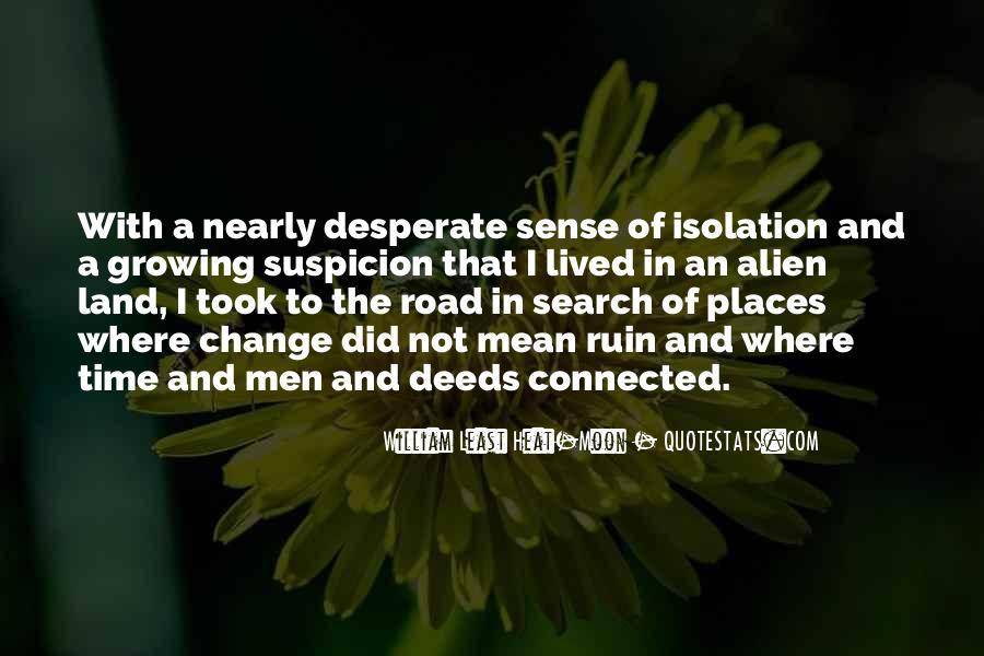 Quotes About Desperate Men #1395768