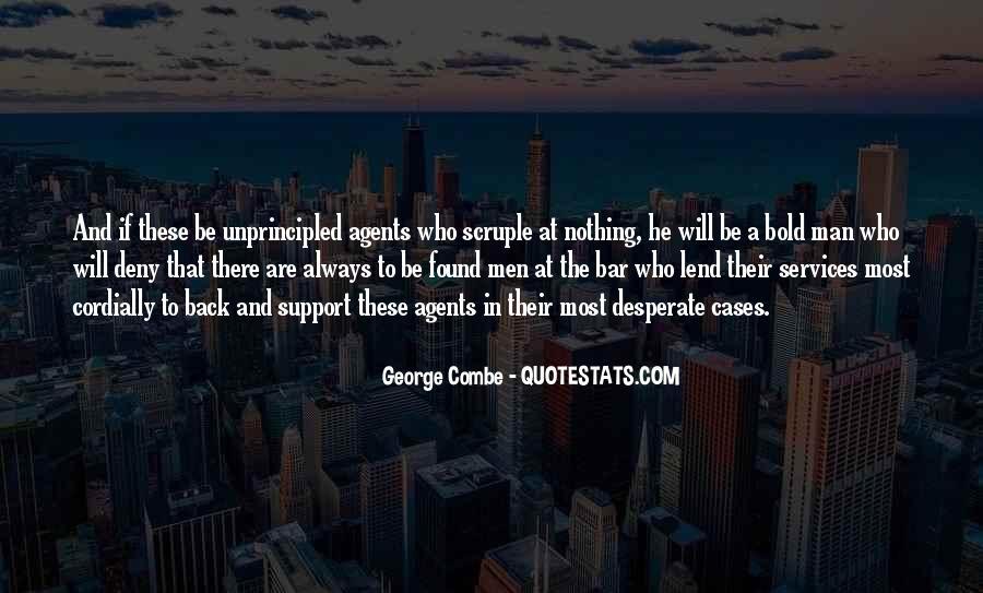 Quotes About Desperate Men #1493218