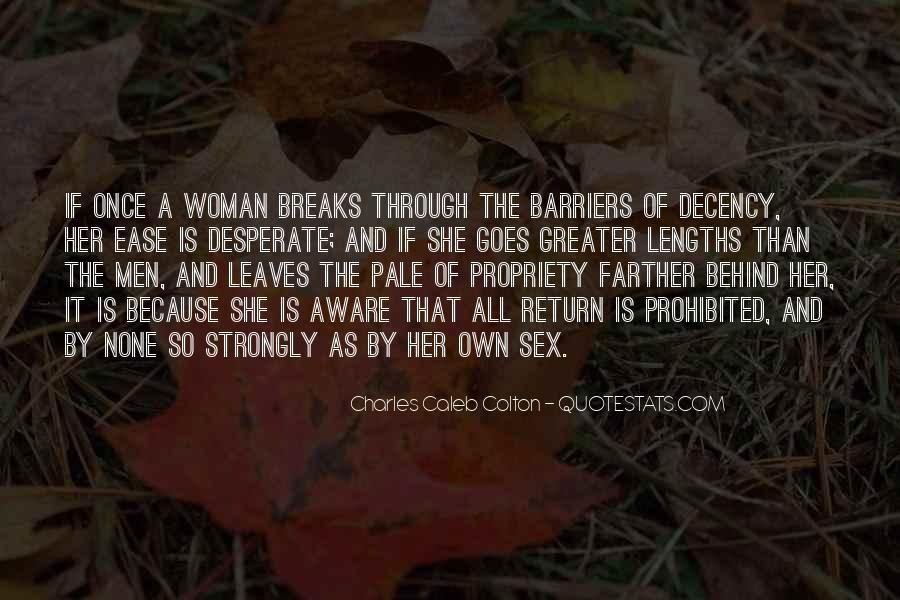 Quotes About Desperate Men #1740114