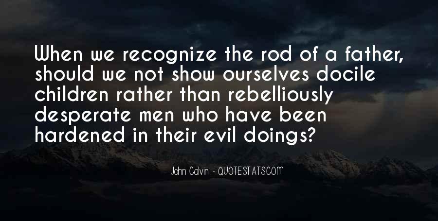 Quotes About Desperate Men #303380