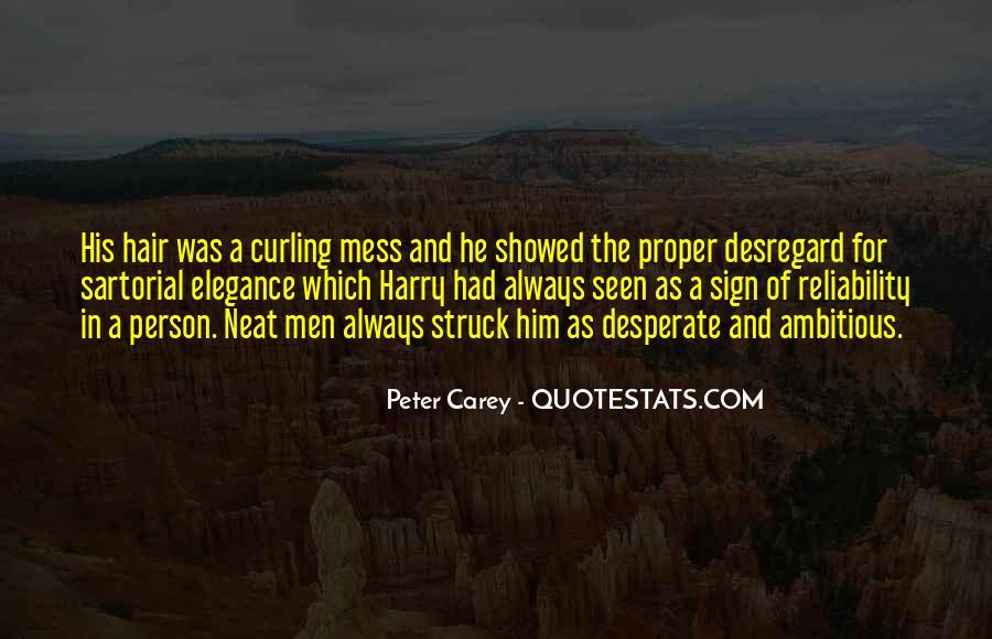 Quotes About Desperate Men #818487