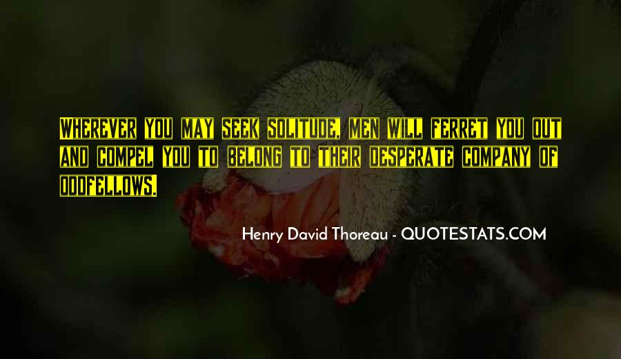 Quotes About Desperate Men #836403