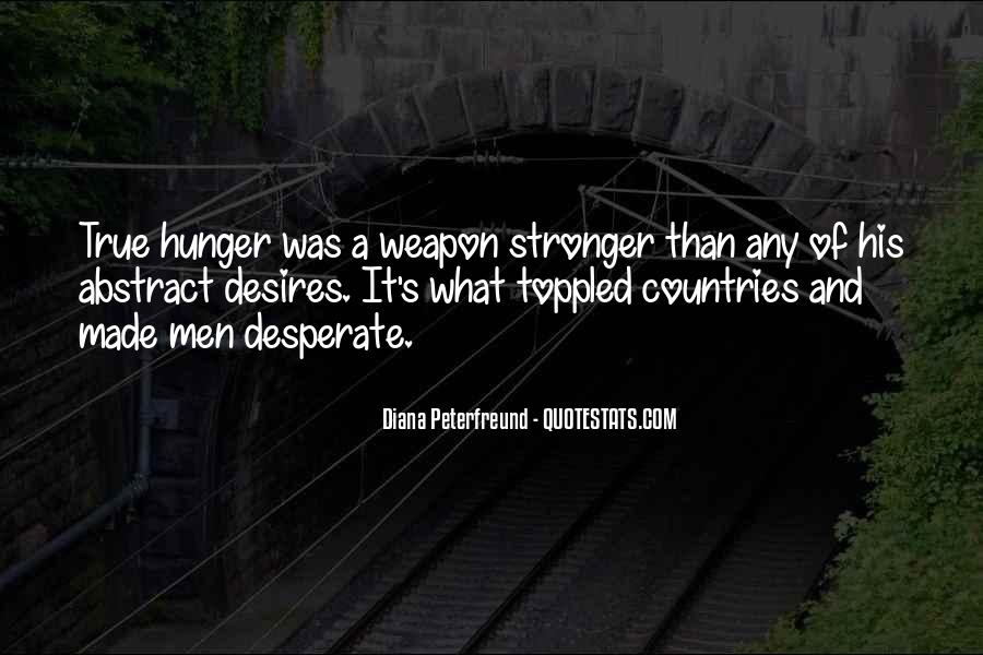 Quotes About Desperate Men #905702
