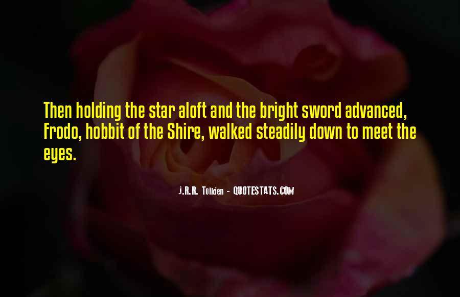 Lord Of The Rings Inspirational Quotes #1534737