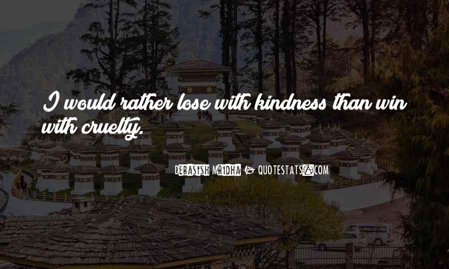 Lose Quotes #10551