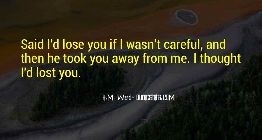 Lose You Quotes #17417