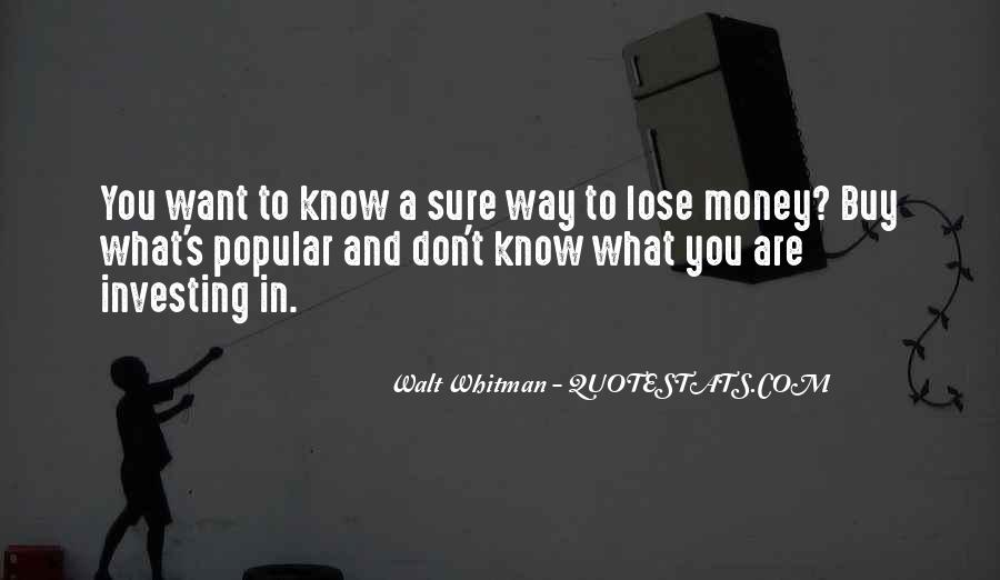 Lose You Quotes #36184