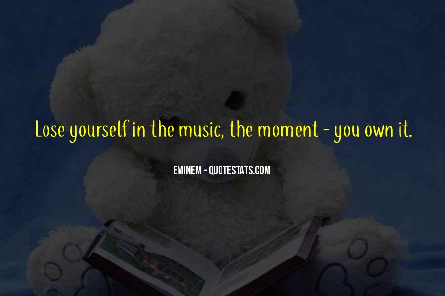 Lose Yourself To Dance Quotes #743189