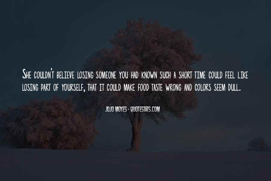 Losing A Part Of Yourself Quotes #1289763