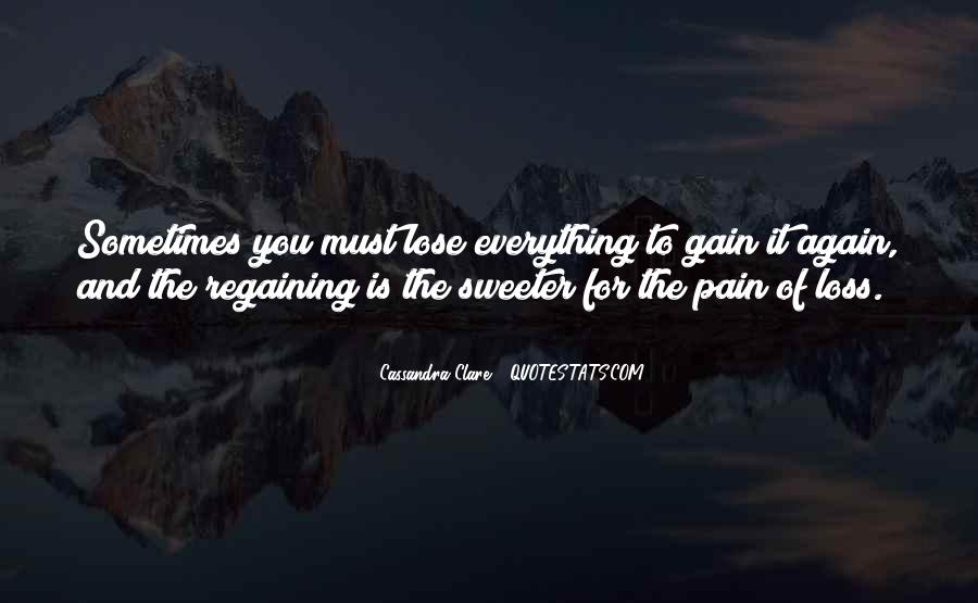 Losing A Part Of Yourself Quotes #357187