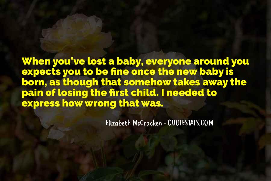 Top 41 Losing Your Child Quotes: Famous Quotes & Sayings ...