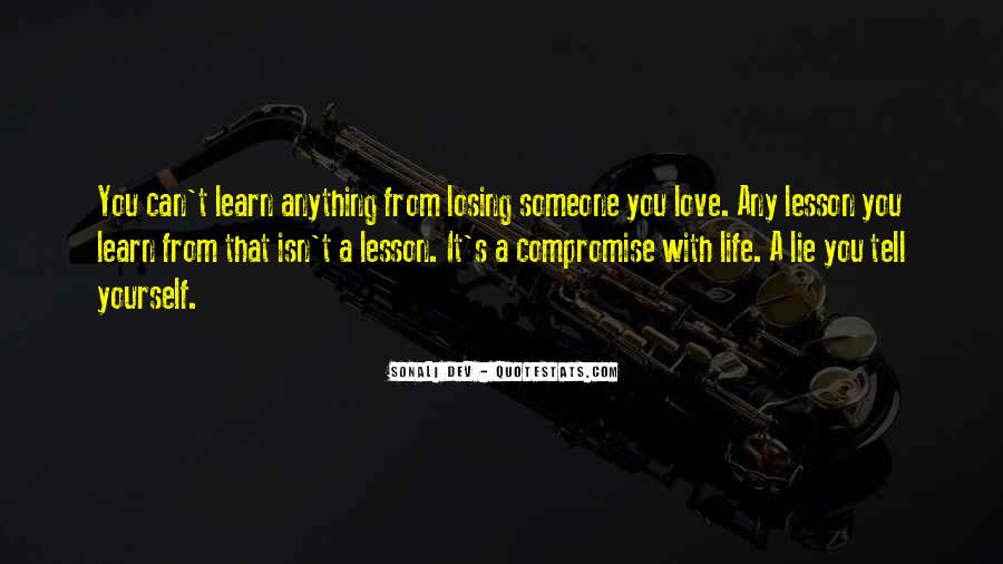 Losing Your Way In Life Quotes #127219