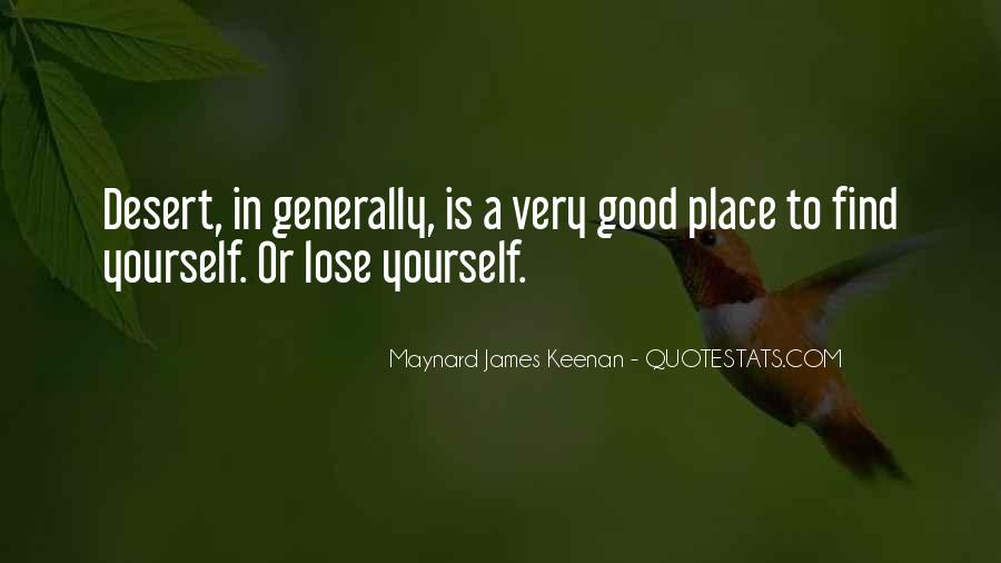 Losing Yourself To Find Yourself Quotes #1805853