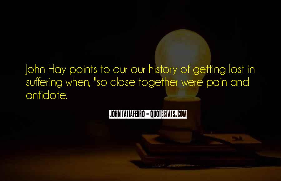 Lost And Pain Quotes #112643