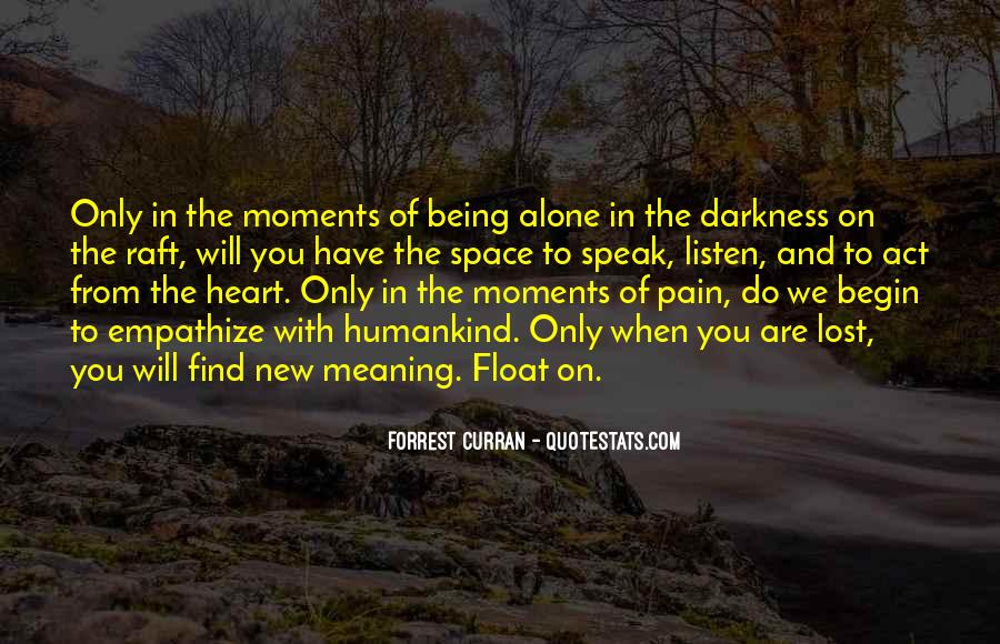 Lost And Pain Quotes #1132393