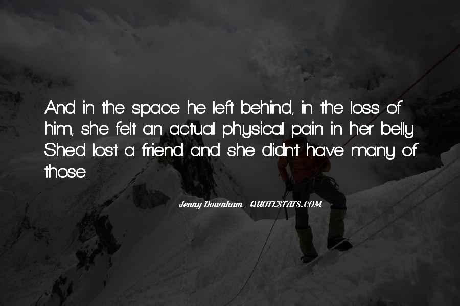 Lost And Pain Quotes #1207276