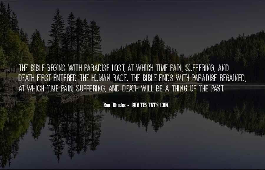 Lost And Pain Quotes #1292076