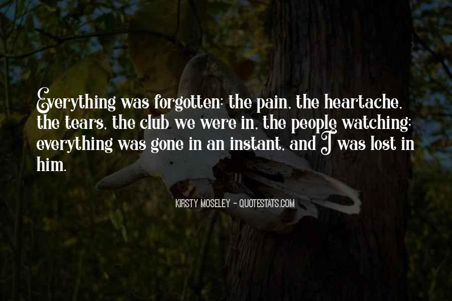 Lost And Pain Quotes #1298736