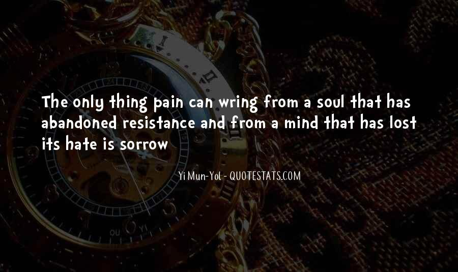 Lost And Pain Quotes #1489146