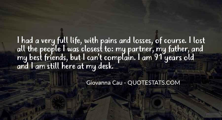 Lost And Pain Quotes #1520680