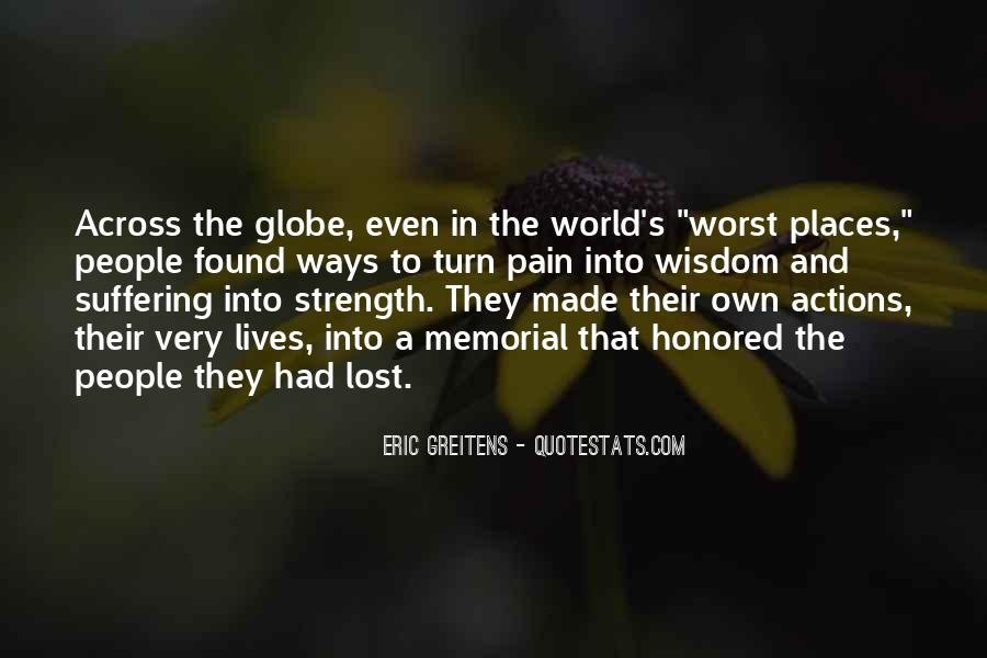 Lost And Pain Quotes #1551368