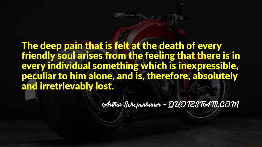 Lost And Pain Quotes #401577