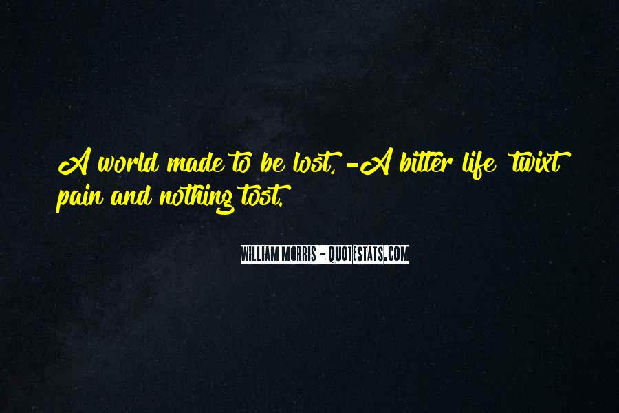 Lost And Pain Quotes #528965