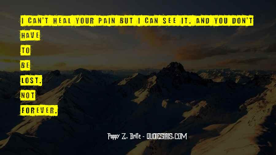 Lost And Pain Quotes #661657