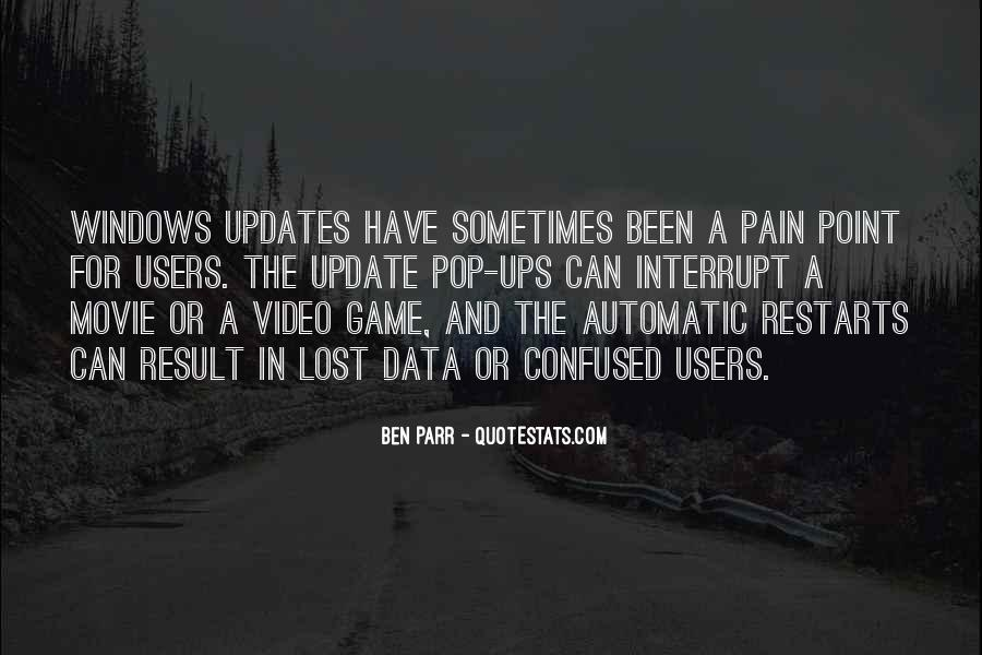Lost And Pain Quotes #754498