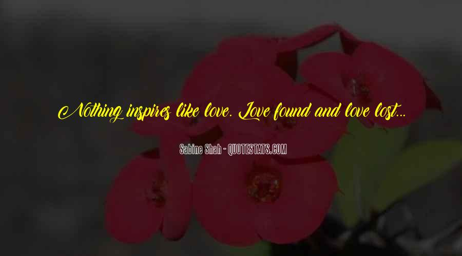 Lost But Found Love Quotes #1077285