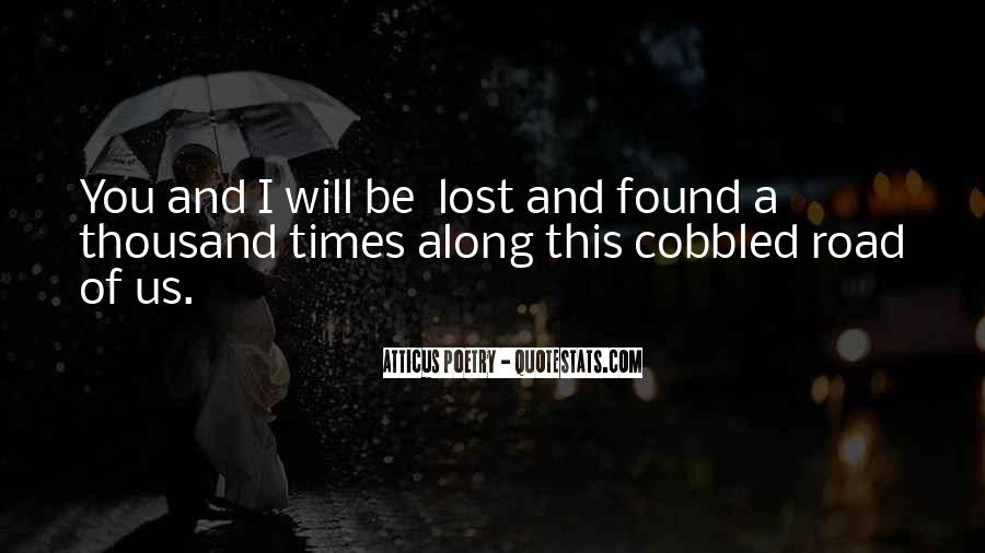 Lost But Found Love Quotes #1415600