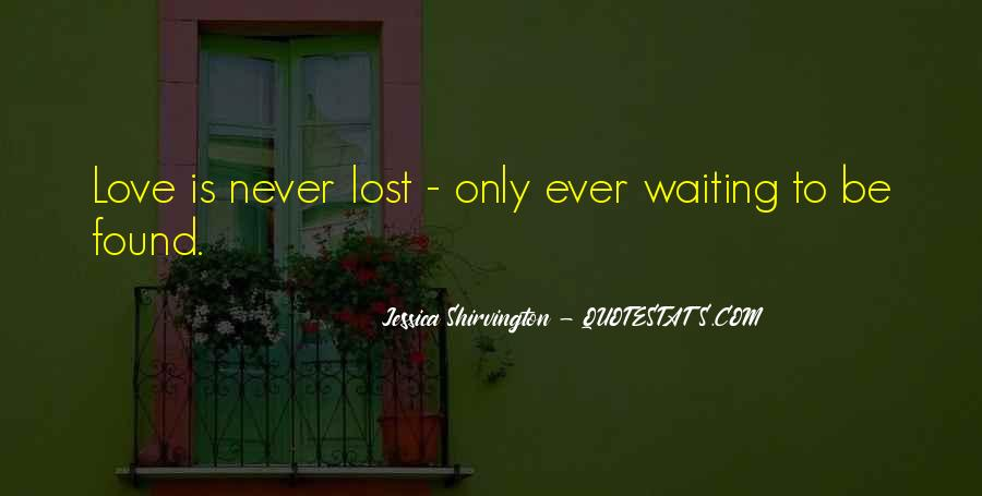 Lost But Found Love Quotes #1490913