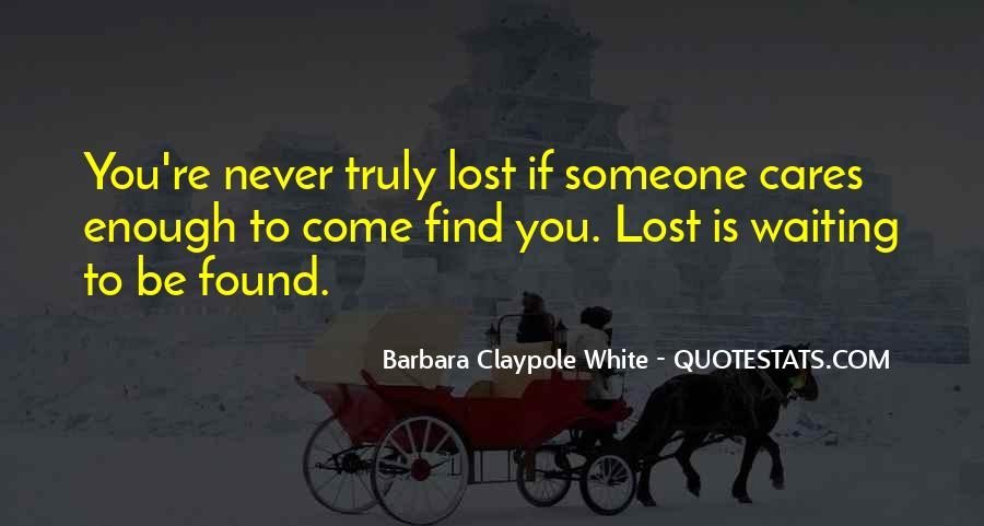 Lost But Found Love Quotes #150165