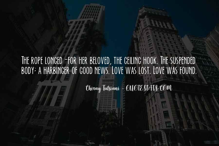 Lost But Found Love Quotes #47376
