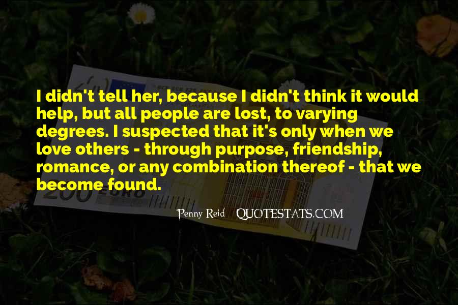 Lost But Found Love Quotes #803533