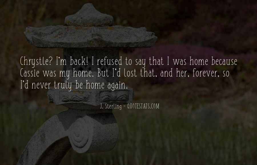 Lost Her Love Quotes #1106151