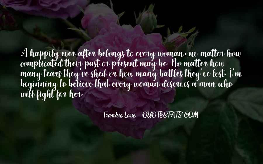 Lost Her Love Quotes #1121345