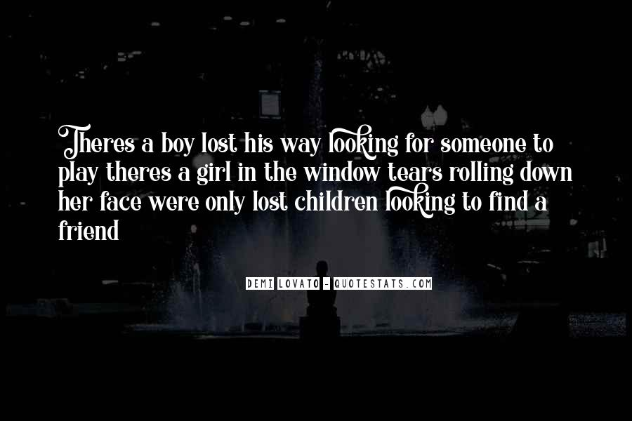 Lost Her Love Quotes #1186551