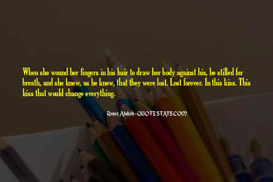 Lost Her Love Quotes #1194190